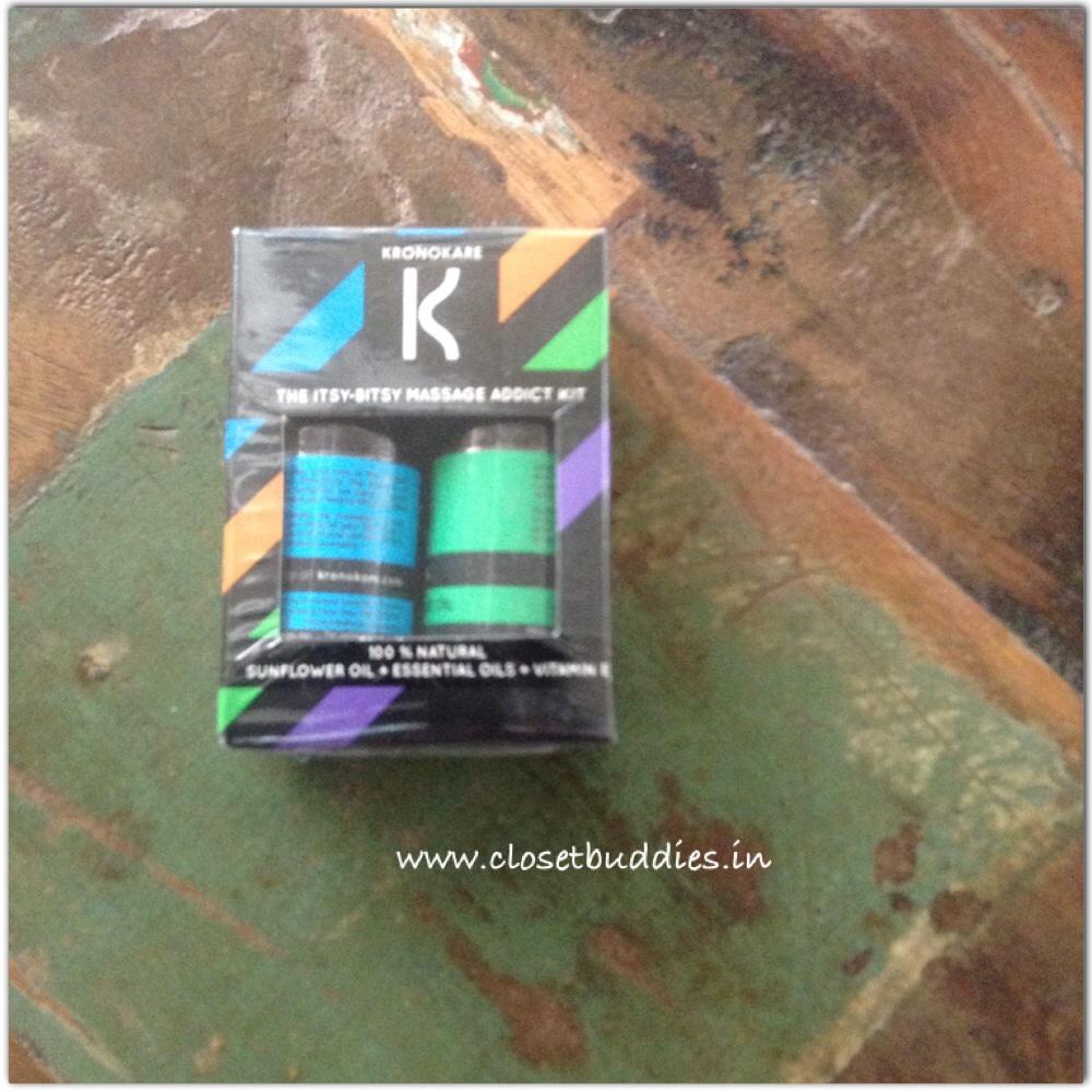 Kronokare Itsy-Bitsy Massage Addict Kit