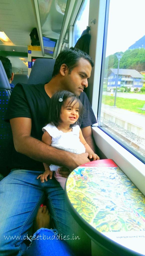 Train from Grindelwald to Zurich