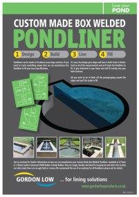 Maidenhead Aquatics Box Welded Pondliner Design