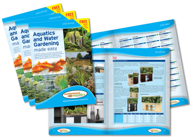 Aquatics & Water Gardening Brochure Design