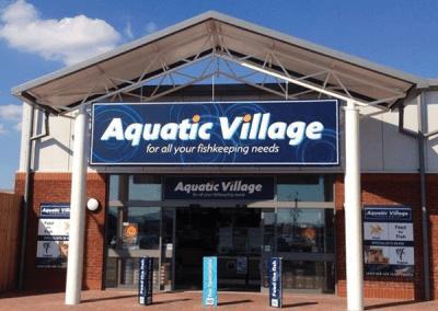 Aquatic Village Storefront Design