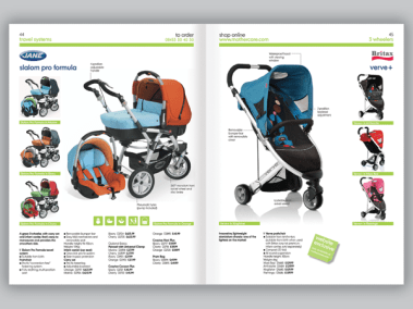 Juice Factory | Mothercare | Catalogue Design
