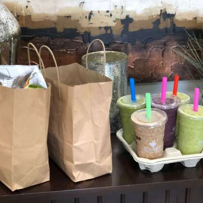 Juiceria food and smoothies to go