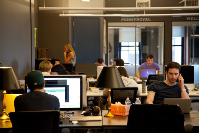 places for coworking nyc