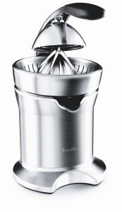 Breville 800CPXL cast stainless steel motorized juicer