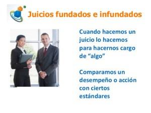 Importancia de un Juicio Fundado