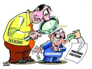 Funcionarios en el Régimen Político