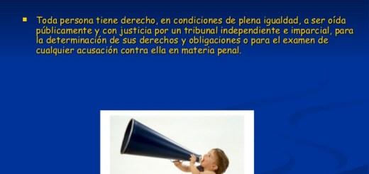 Artículo 10 de los Derechos Humanos