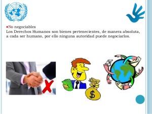 Características de los derechos