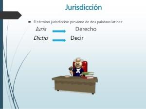 Función jurisdiccional del estado