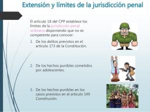Límites de la jurisdicción