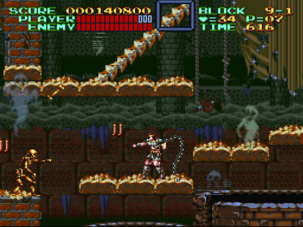 Image result for Super Castlevania IV SNES