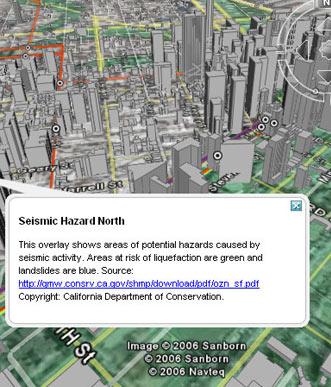 seismic hazard and 3d buildings