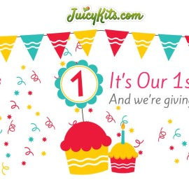 Free Air Plants for Juicykits.com First Birthday