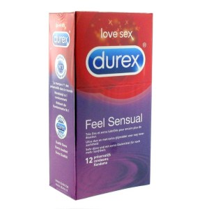 Durex Durex - Feel Sensual Condoms 12 pcs