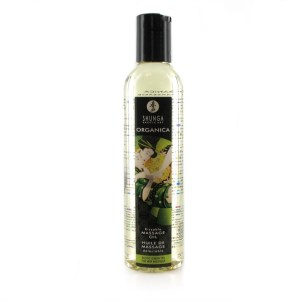 Shunga Shunga - Massage Oil Organic Erotic Green Tea