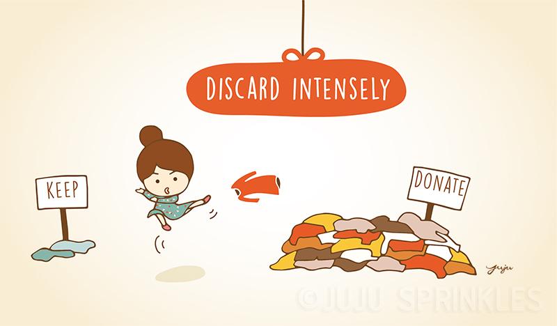 Konmari Discard 3