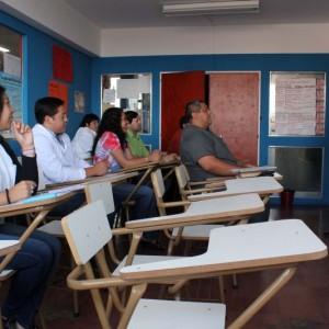 Patricia Rios capacitaciones para técnicos del SENASA