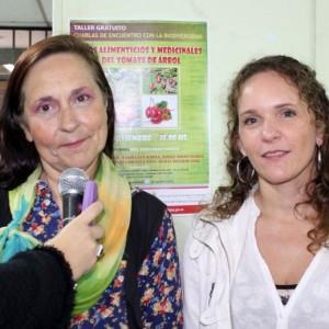 Mariana Canedi Charla de tomate en árbol