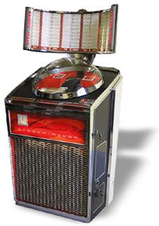 Classic vinyl jukebox hire