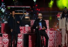 IF YOU MISSED IT: Chance The Rapper Performs At Christmas Tree Lighting Ceremony (Video)