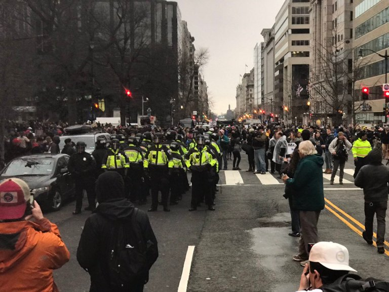 Inauguration 2017: Watch The Many Protests That Took Place In D.C. Today
