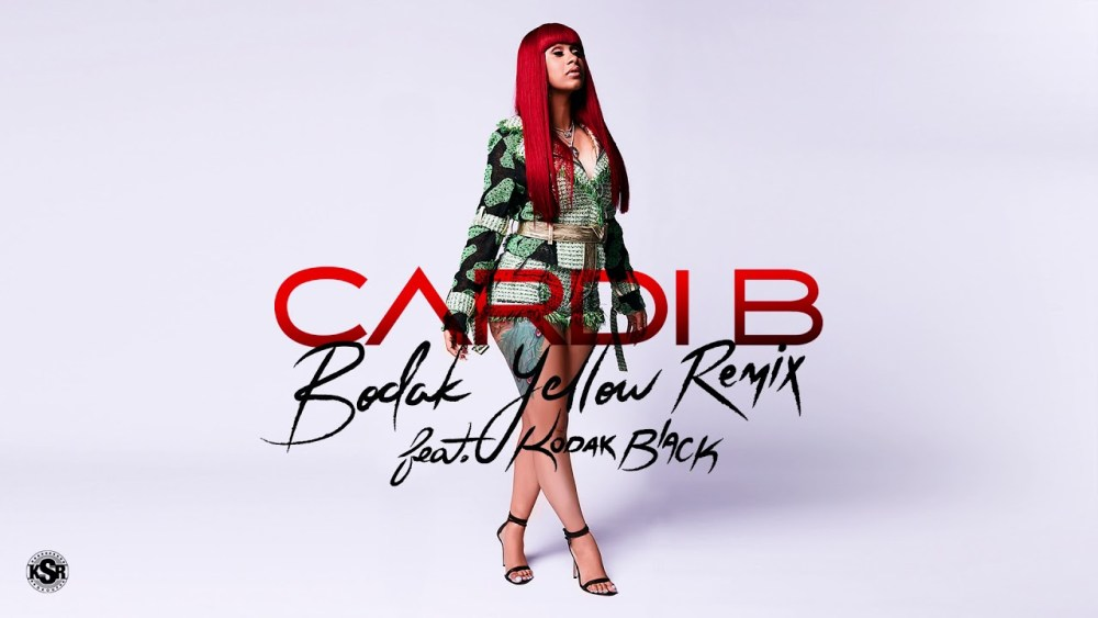 Cardi B Feat. Kodak Black – Bodak Yellow (Remix)