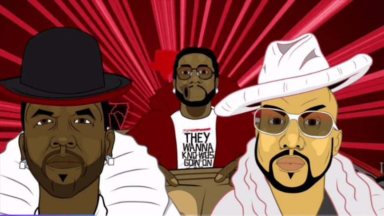 Big Boi Feat. Gucci Mane & Pimp C – In The South (Video)