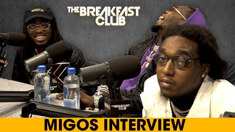 Migos Talk 'CULTURE II' on The Breakfast Club