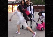Blac Chyna Loses Stroller Deal After Tossing One Mid-Fight