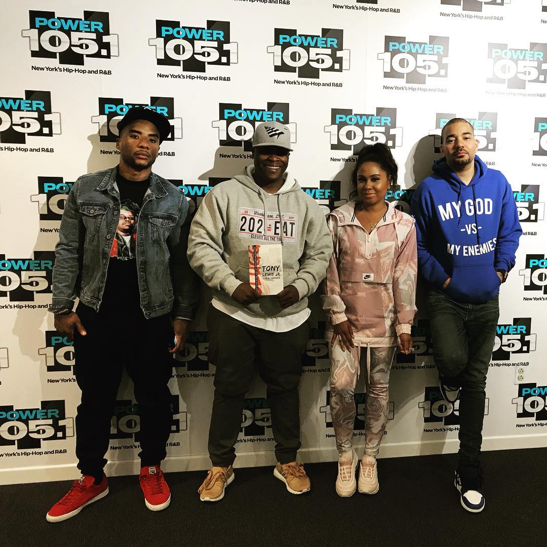 ICYMI: Tony Lewis Jr. Gets Real on 'The Breakfast Club'