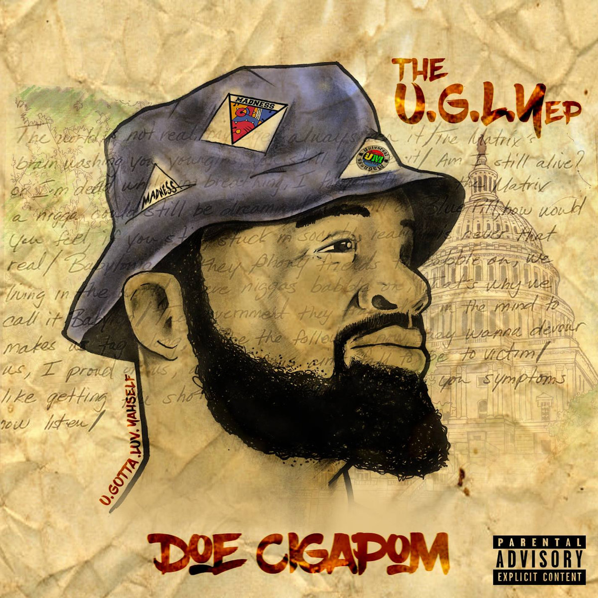 Stream DOE CIGAPOM's 'The U.G.L.Y.' EP