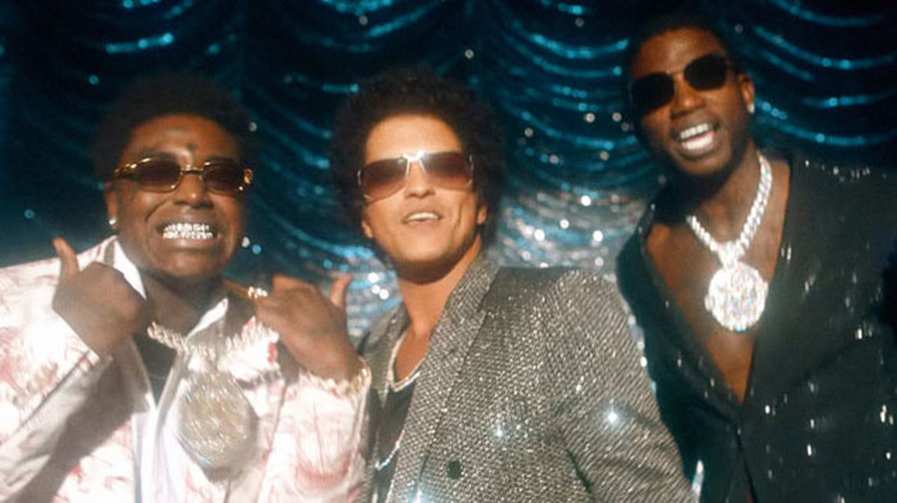 "Gucci Mane, Bruno Mars & Kodak Black – ""Wake Up in The Sky"" (Video)"