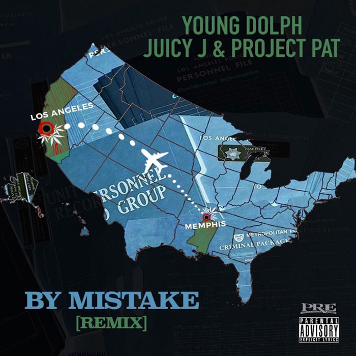"Young Dolph Feat. Juicy J & Project Pat – ""By Mistake (Remix)"""