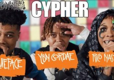 Check Out YBN Cordae, Rico Nasty & Blueface's XXL Cypher