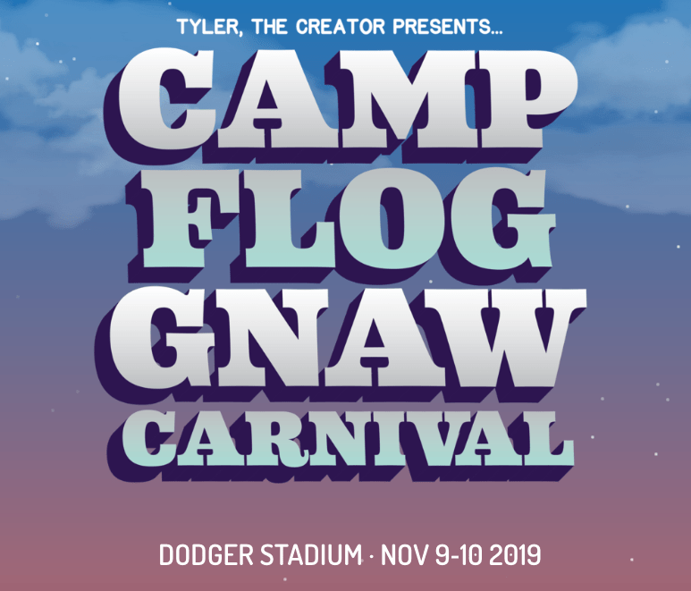 GoldLink & IDK to Join Tyler, The Creator, YG, Solange & More at This Year's Camp Flog Gnaw Carnival