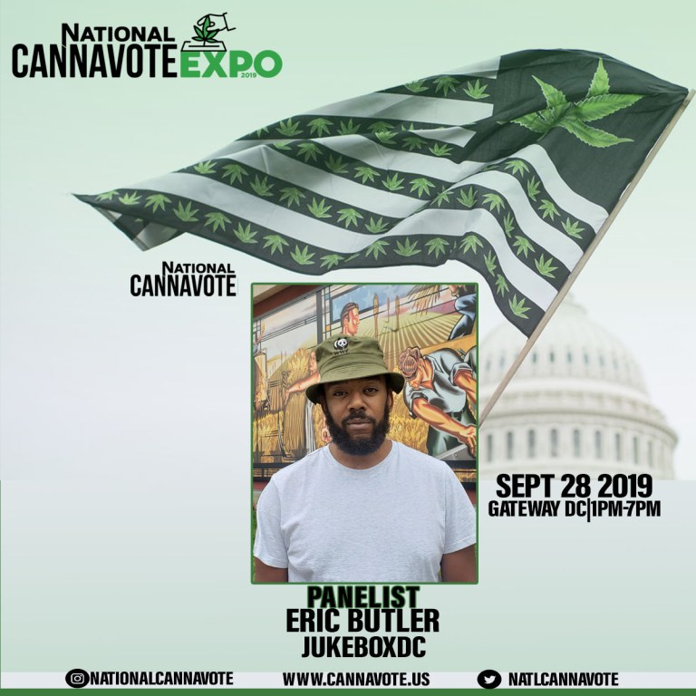 JUKEBOXDC's Eric Butler Among Panelists Announced for National CannaVote Expo