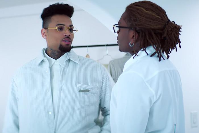 """Chris Brown Feat. Gunna – """"Heat"""" (Video)"""