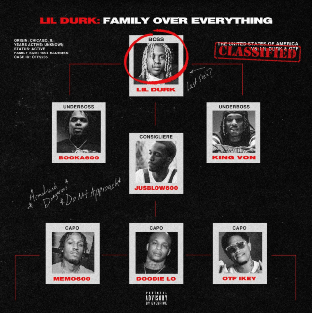 Lil Durk & OTF – 'Family Over Everything' (Stream)