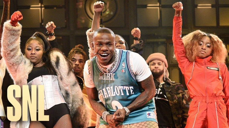 DaBaby Performs on 'SNL'