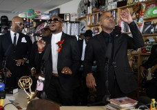 The Crossrhodes Perform for NPR's Tiny Desk Series