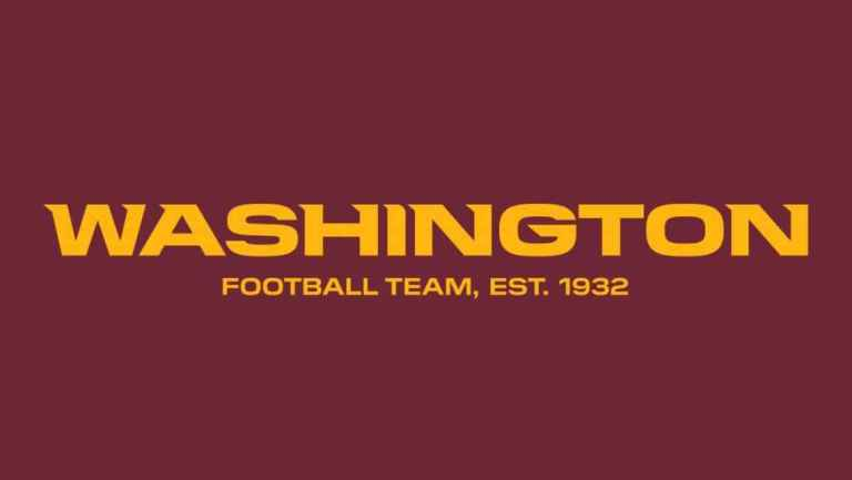 The Washington Redskins Are Now The Washington Football Team