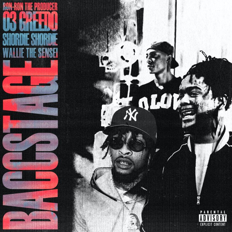 "Shordie Shordie Joins 03 Greedo, Ron-RonTheProducer & Wallie The Sensei On ""Baccstage"""