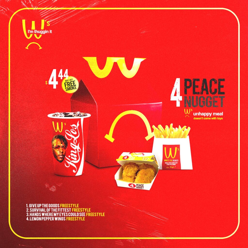 King Los – '4 Peace Nugget' (EP Stream)