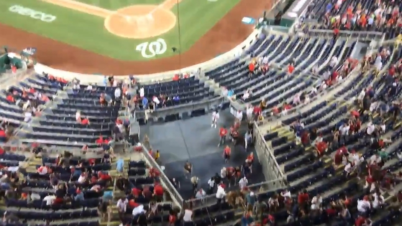 D.C. Shooting Outside of Nationals Stadium Leaves 3 Injured