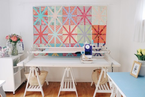 6-foot Machine Quilter frame