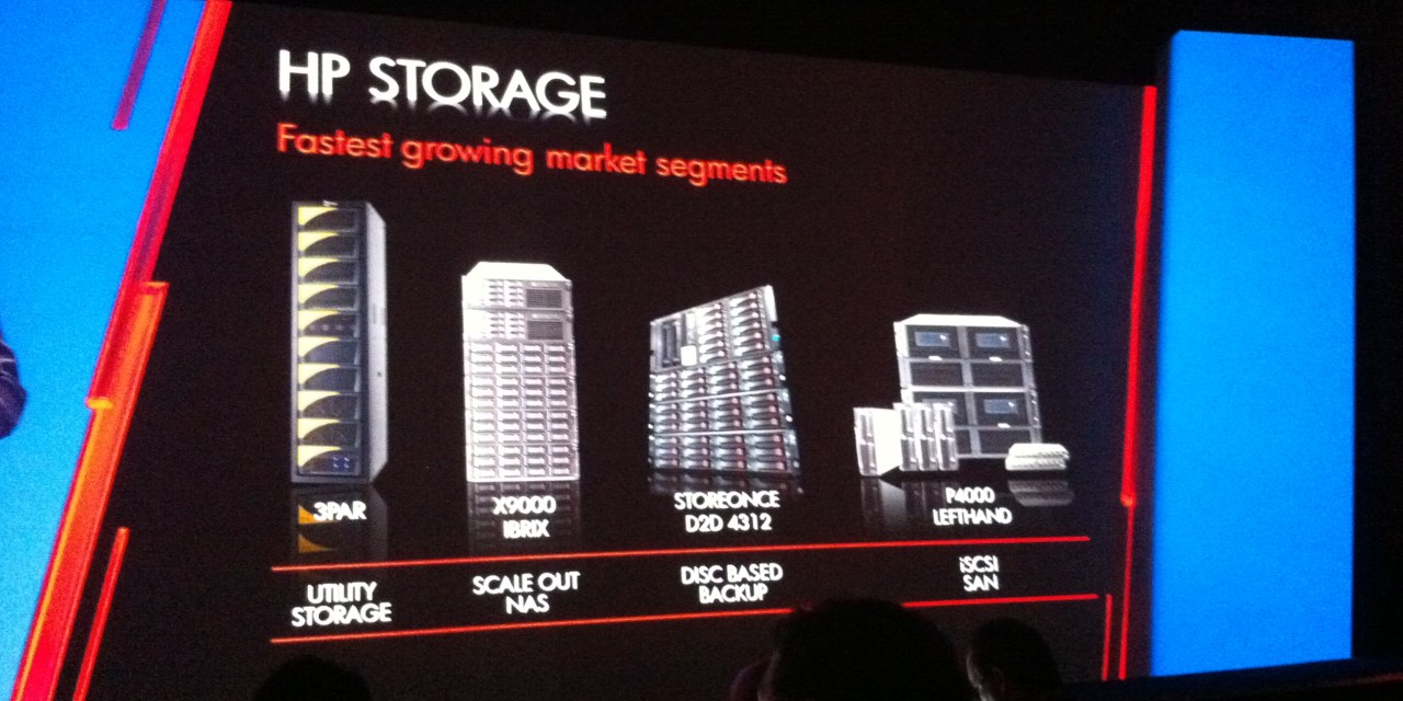 HP Store360: the HP converged storage