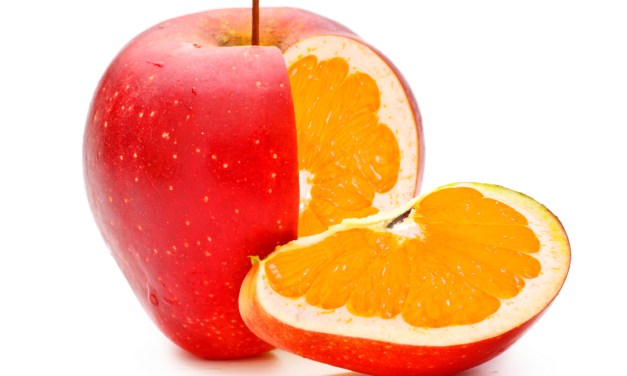 Never compare Oranges with Apples. But I do!