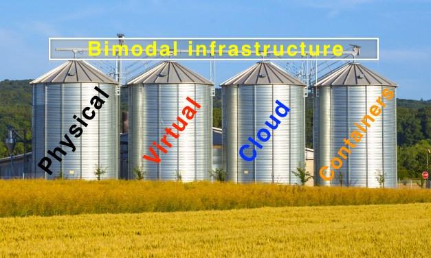 Bimodal IT needs bimodal infrastructures