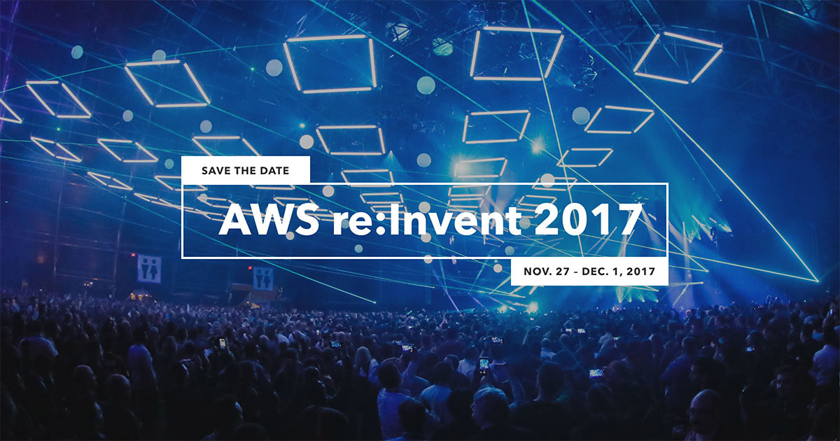 Let's Meet Up at AWS Re:Invent